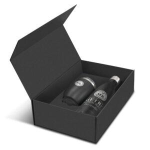 Gourde isotherme avec boîte cadeau gravure au laser à personnalisée