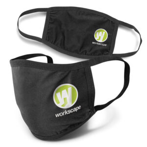 Masque coton réutilisable et personnalisables avec logo