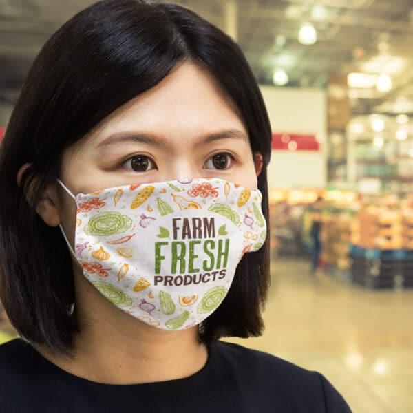 Masque en coton